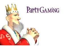 -- poker king is pondering the revenue drops at partygaming --