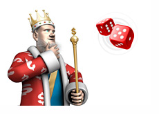 The King is pondering the vetoed online gambling Bill for New Jersey
