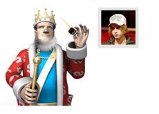 King is talking about Viktor Blom aka Isildur1
