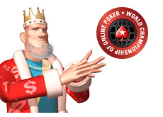 -- poker king and the pokerstars wcoop logo --