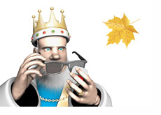 The King wiping his sunglasses - Autumn update