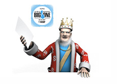 The King is reporting on the latest from The Big One for One Drop tournament at the WSOP 2012