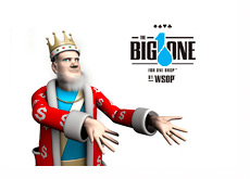 The King and the Big One for One Drop - WSOP Tournament - Logo