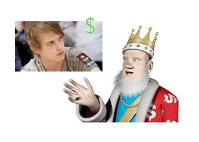 The King is talking about Viktor Blom and his recent cash game performance - Photo from Viktors Facebook Profile