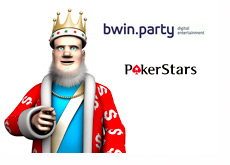 The King is reporting the latest news about bwin.party and Pokerstars