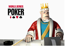 -- The King is calculating the 2010 World Series of Poker numbers --