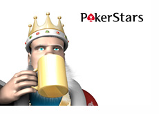 The King is drinking his coffee thinking about Pokerstars and the return of Lee Jones