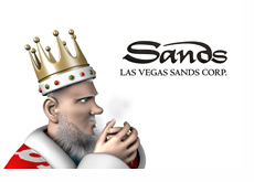 The King is reporting some cold news from Las Vegas Sands Corp.