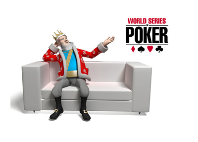 The Poker King is sitting on the couch and talking about the events taking place at the 2016 WSOP in Las Vegas