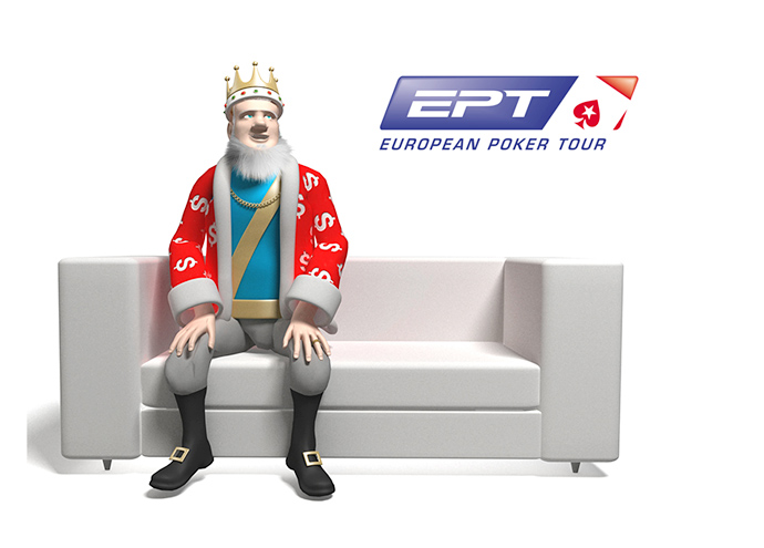 The King is Wrapping up the EPT - Vienna 2014 - Sitting on the Studio Sofa