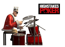 -- poker king on drums annunces the wraps on high stakes poker season 6 filming --