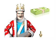 The King is reporting on December 2012 poker earnings