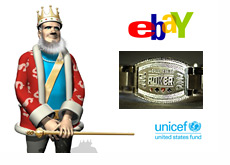 The King is waiting for the Ebay auction to end - WSOP Bracelet