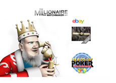 The King is talking on the phone discussing the Dutch Boyd bracelet sale on Ebay, the Millionaire Matchmaker featuring Daniel Negreanu and the Heads-Up Poker