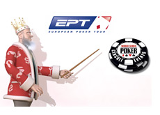 The King is presenting the latest news from the EPT Vienna and the WSOP Circuit