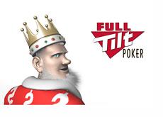 The King next to the Full Tilt Poker (FTP) logo