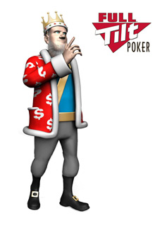 The King is talking about Full Tilt Poker and their chances of paying players back