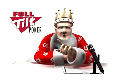 The King is reporting on the Full Tilt Poker cashout situation