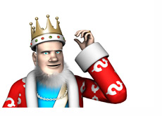The King is discussing the latest news about the online poker amendment in the United States