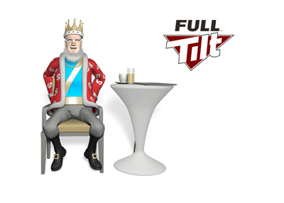 The Poker King is sitting in a cafe giving the report on the latest round of Full Tilt payments