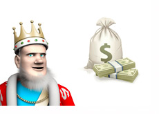 The King February High Stakes Report - Money Bag