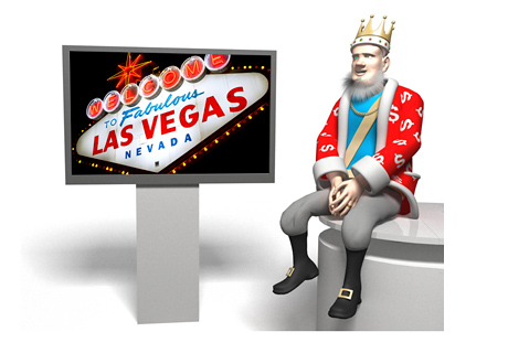 The King is doing a report on Nevada poker revenues in July of 2014