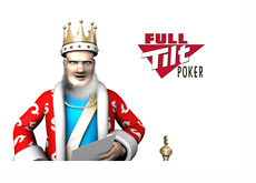 The King is reading the latest news from Full Tilt Poker
