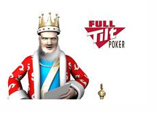 The King is reading the latest news from Full Tilt Poker