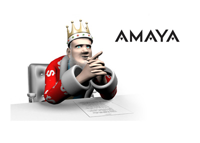 From his studio office, the King talks about AMAYA the company