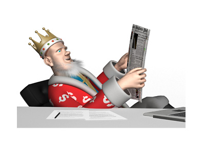 The Poker King is leaning back in his office chair and reading the news about the cancellation of the William Hill - Amaya merger.