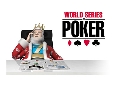 The King is receiving and broadcasting the latest odds to win the 2016 World Series of Poker main event