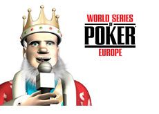 The King is reporting live from the WSOPE
