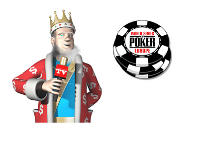 The King is reporting on the latest from the World Series of Poker Europe - WSOPE