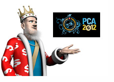 The King next to the PCA - Pokerstars Caribbean Adventure - Banner