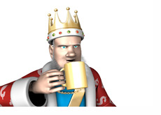 The King is clarifying the domain name situation for Pokerstars, FullTilt and UB