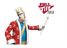 The King presents new Full Tilt Poker