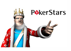 The King presents Pokerstars
