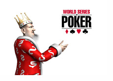 The King is presenting the WSOP logo