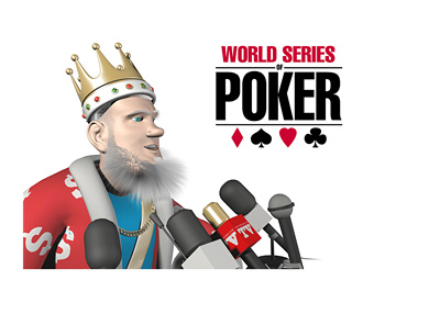 The Poker King is holding a press conference following the announcement of the WSOP 2015 winner