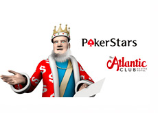 The King is reading a report on the latest from Pokerstars and Atlantic Club deal