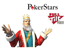 -- Poker King and Full Tilt and Pokerstars logos - wide open arms --