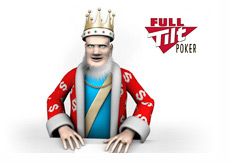 The King is reading the latest news from Full Tilt Poker and Bernard Tapie