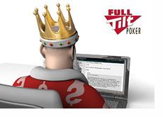 The King is reading the latest Full Tilt Poker post on 2+2