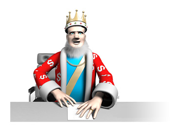 The King is reading the latest news about Amaya and their say on the fantasy sports scandal in the United States
