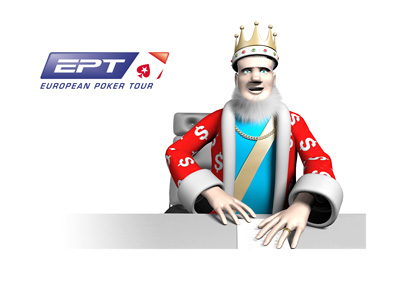 The King is reporting on the latest from the European Poker Tour - Barcelona - 2015