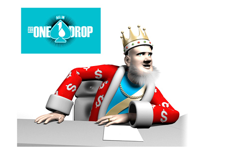 The King is reporting on the latest from the WSOPs Big One for One Drop