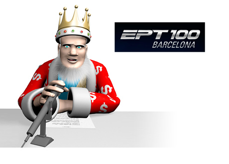 The King is pondering the subject of mixing poker and politics at the European Poker Tour (EPT) 100