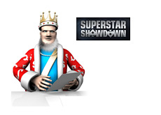 The King is reporting on the latest Superstar Showdown at Pokerstars