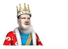The King is reporting the latest news from the poker world