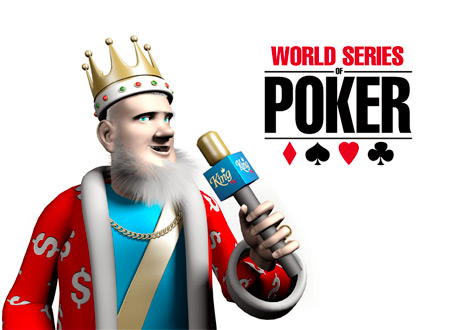 The King is reporting from the 2014 World Series of Poker (WSOP)